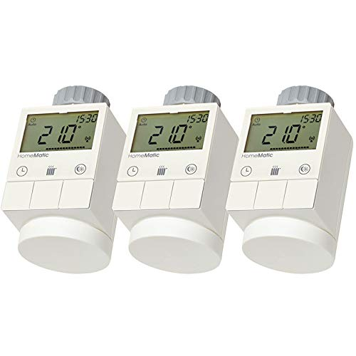 HomeMatic Funk-Heizkoerperthermostat 3er Set