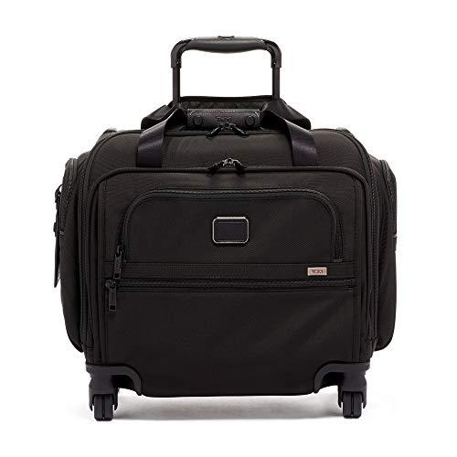 [トゥミ] スーツケース ソフト 公式 正規品 TUMI Alpha 3コンパクト・4ウィール・ダッフル 機内持ち込み可 保証付 46L 38 cm 9.1kg Black