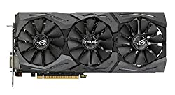 Asus ROG Strix-RX480-O8G gaming AMD Radeon graphics card (8GB GDDR5 memory, PCIe 3.0, HDMI, DisplayPort)