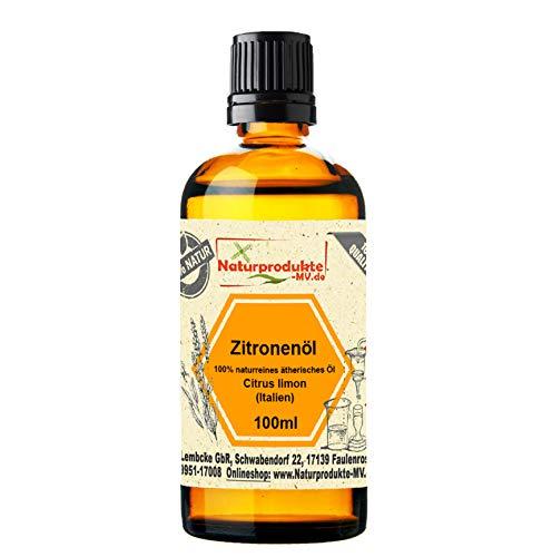 Zitronenöl 100 ml 100% naturreines ätherisches Öl