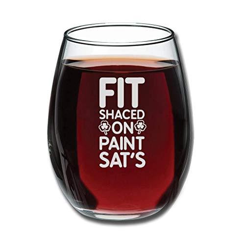 Copa de vino belga sin tallo, personalizable, con grabado, ideal para esposa, mujer, amigas, compañeras, aniversario, pareja para Navidad, color blanco 350 ml