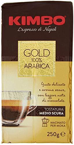 10x Kimbo Gold 100% arabica Kaffee Espresso Packung gemahlen ground caffè