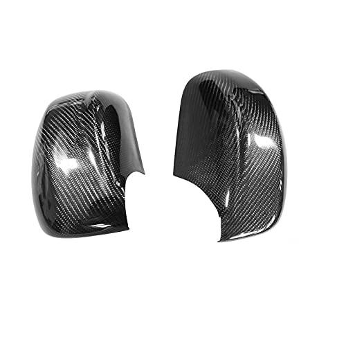 BHYUDYT Suitable for Nissan R35, GTR Rearview Mirror Case Carbon Fiber Nissan Modified Sticker Auto Parts Cover Cap