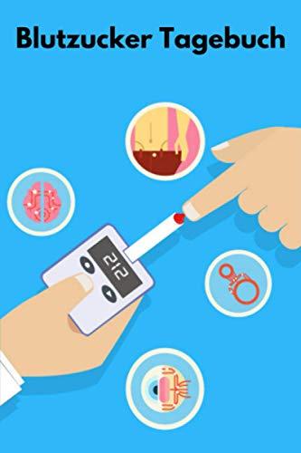 Blutzucker Tagebuch: Zur täglichen Erfassung von Blutzucker, Blutdruck, Insulin etc. bei Diabetes-Patienten | 100 Wochen | Mit Notfallkontakt