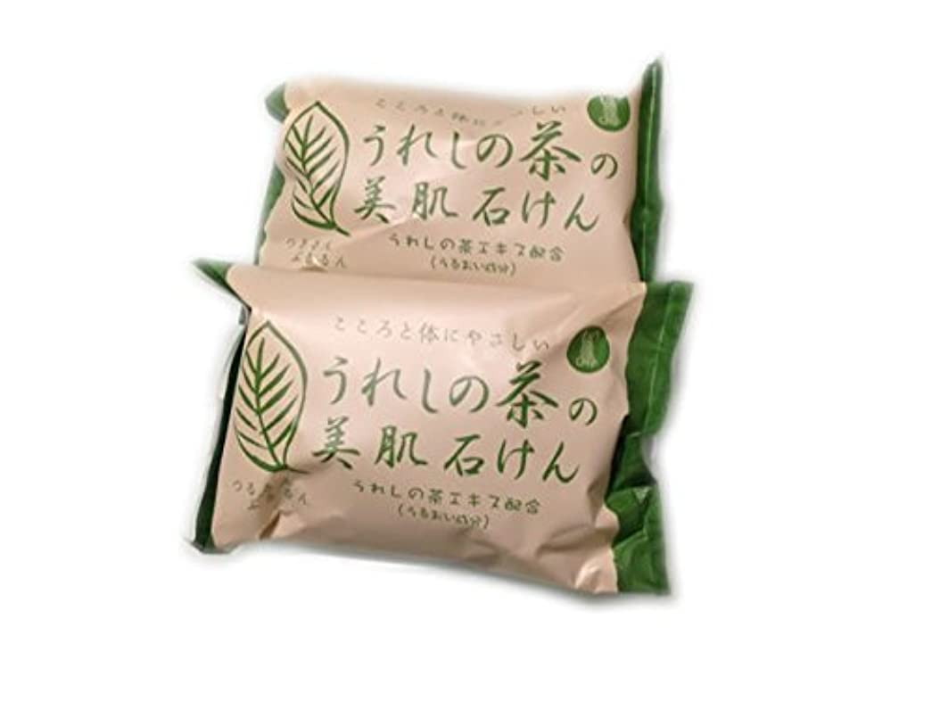 私たちのもの腐食する接続詞日本三大美肌の湯嬉野温泉 うれしの茶の美肌石けん2個セット