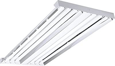 Columbia Lighting LHA4-454-NST-4EPU Lha Industrial Fluorescent High Bays