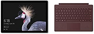 Microsoft Surface Pro 5, 2-in-1 Laptop, Intel Core-i7, 12.3 Inch, 256GB SSD, 8GB RAM, Intel® HD Graphics 615, Windows 10 Pro, Silver with Black Type Cover [Middle East Version]