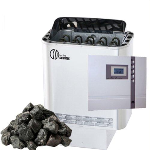 NORDEX SAUNAOFEN 8 kW SAUNASTEUERUNG EOS ECON D 1 + SAUNASTEINE