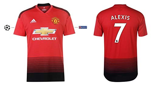 Manchester United Trikot Kinder 2018-2019 Home UCL - Alexis 7 (140)