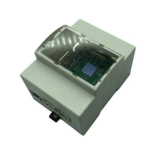 Alician Raspberry Pi 4 Model B - Carcasa protectora para Rpi 3 modelo B+ 3 generaciones
