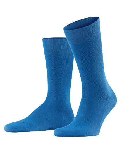 FALKE Herren Socken Sensitive London - 94% Baumwolle, 1 Paar, Blau (Sapphire 6055), 43-46