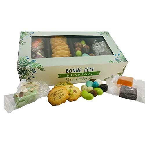 CHOCOLAT BONNE FETE MAMAN MERE - COFFRET 4 SPECIALITES SOPHIA GM -...