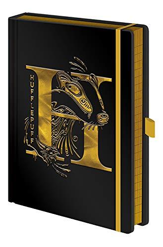 Notizbuch A5 Premium - Hufflepuff