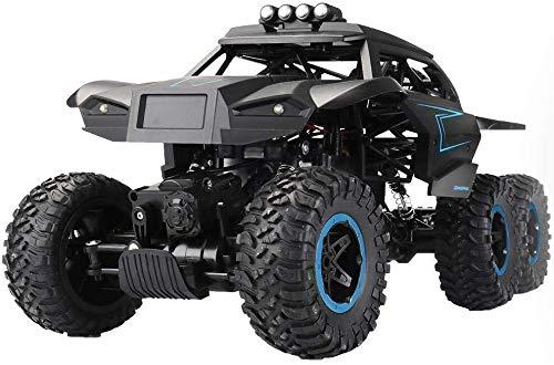 Preisvergleich Produktbild ADLIN Fernbedienung Auto-2.4Ghz 4Wd Off Road High Speed Rc Auto Double Motor Dual-Motoren Rock Crawler Graffiti Racing Monster Truck,  Schwarz