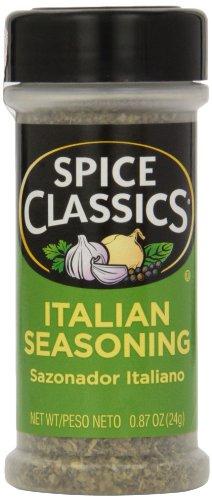 Spice Classics Italian Seasoning, 0.87 oz (Pack of 12)