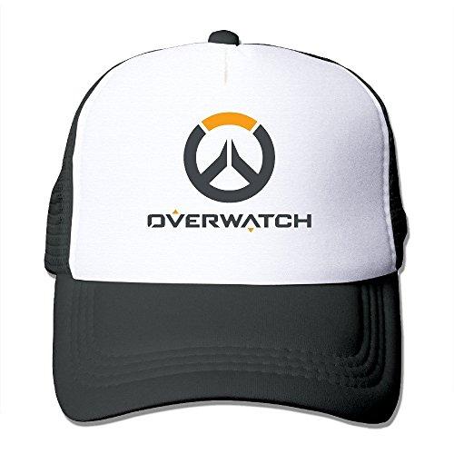 DAYLV Overwatch multijugador Logo Gorro de Malla Transpirable