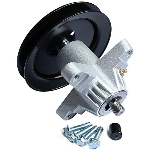 boeray Spindle Assembly Replaces for Cub Cadet MTD 918-04474A 618-04474A 618-04495 618-04474 918-04474 Stens 285-889 80-11-779 CP 30-8012 with 4 Tapped Bolts