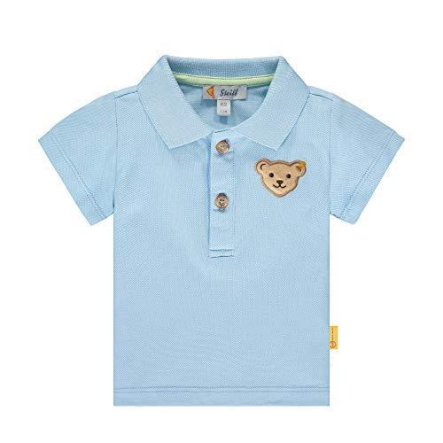 Steiff Baby-Jungen Poloshirt, Blau (Kentucky Blue 6020), 62 (Herstellergröße: 062)