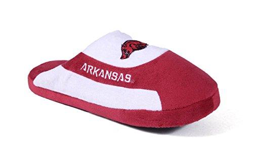 Arkansas Razorbacks Low Pro Stripe Slip On Slipper, X-Large