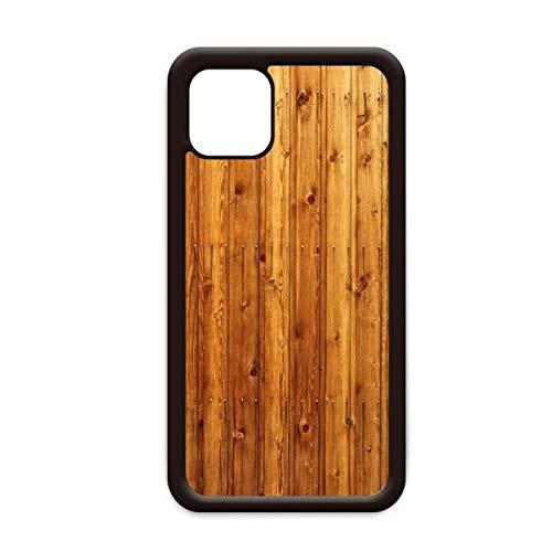 Oranje houten vloer behang textuur voor Apple iPhone 11 Pro Max Cover Apple mobiele telefoonhoesje Shell, for iPhone11