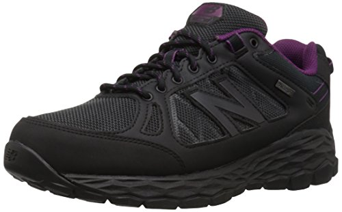 New Balance Women's Fresh Foam 1350 V1 Walking Shoe, Black/Silver, 10.5 M US