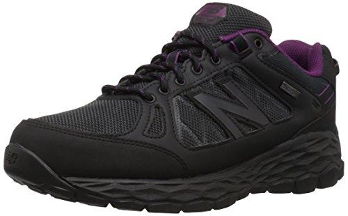 New Balance Women's 13501 Fresh Foam Walking Shoe, Black, 8 B US