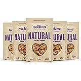 nut&me | Nuez Pecana l Contiene trazas cacahuete, otros frutos secos y derivados lácteos | Sin Gluten | Vegano | (200g x 5 uds)