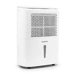 Klarstein DryFy 10 - Luftentfeuchter, Raumentfeuchter, 240 Watt, 10 L/24h, für 15-20 m² (bis 50 m³) Raumgröße, weiß