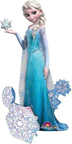 NEW! ELSA FROZEN AIRWALKER 57 Wow! Birthday party Balloons Decoration Supplies by Anagram