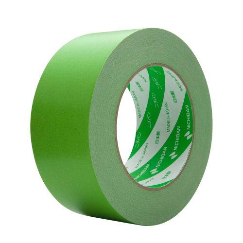 ニチバン 着色クラフトテープ 50mm×50m巻 305C21-50 ライトグリーン