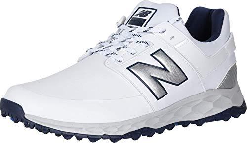 New Balance Men's Fresh Foam LinksSL Golf Shoes, White/Navy, 15, D