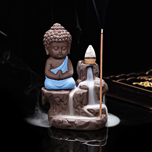 Mayco Bell Quemador de Incienso de reflujo, de cerámica Amarillo (A)