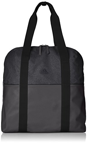 adidas Damen Training ID Schultertasche, Black/Black/Carbon, 17 x 38 x 44 cm