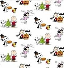 Berkshure Snoopy Lucy Charlie Brown Peanuts Throw Blanket - Christmas Thanksgiving Halloween - 55