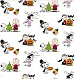 Berkshure Snoopy Lucy Charlie Brown Peanuts Throw Blanket - Christmas Thanksgiving Halloween - 55' x 70' (Holidays)