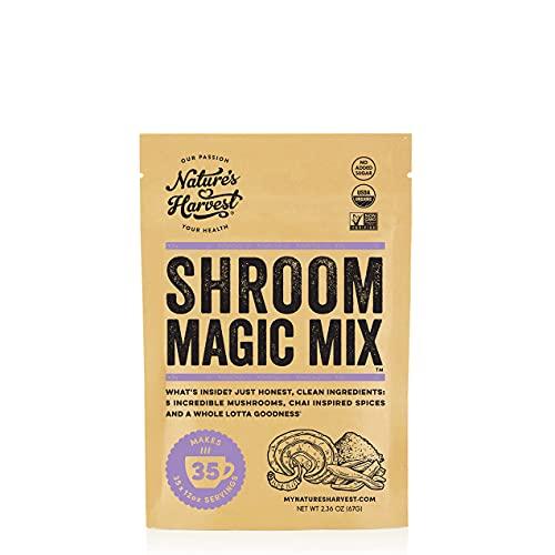 Nature's Harvest Mushroom Powder Tu…