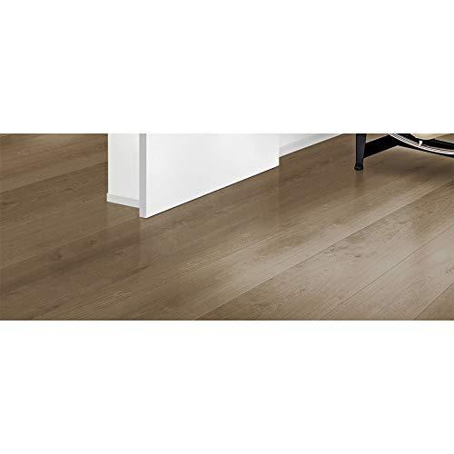 HTI-Line Selbstklebender Vinylboden PVC- Boden Preis pro m² 12,29 Euro Bodenbelag Dielen Vinylfussboden Laminat Braun