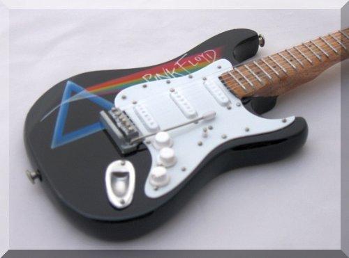 DAVID GILMOUR miniatura de la guitarra de Mini de color rosa Floyd fuera de la pared