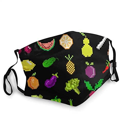KEROTA Pixel Art - Pañuelos faciales de frutas y...