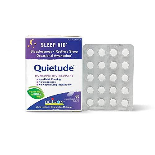 Boiron Quietude Homeopathic Medicine, Sleep Aid, 60 Count