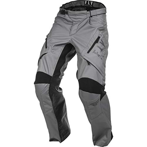 FLY Racing Patrol Over-Boot Pants, Protective Motorcycle Gear, (GREY,SZ 40)