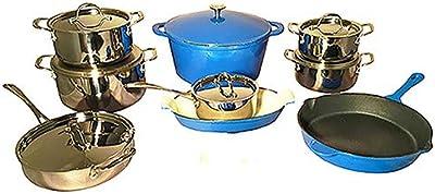 Amazon.com: Set de 2 piezas de sartén de hierro ...