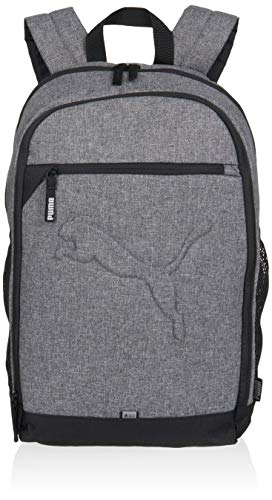 PUMA Unisex PUMA Buzz Backpack, mens, 07358140, Medium Grey Heather, standard size