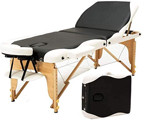New Massage Table Tuina Beauty Bed Home Portable Moxibustion Bed Alloy Massage Beauty Tattoo Spa Rei...