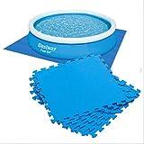 Bestway 58220 - Protector de suelo para piscina (50 x 50 cm, 9 unidades)