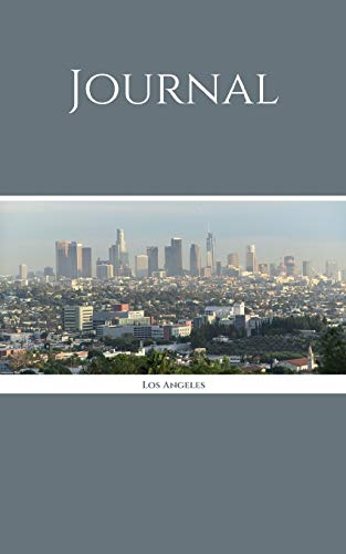 "Journal: Los Angeles; 100 sheets/200 pages; 5"" x 8"""