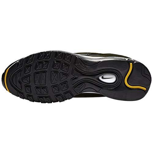 Nike Air Max Deluxe SE Shoes Cargo Khaki/Black-Amarillo White AO8284-300 Size 11.5