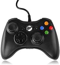 QUMOX Contrôleur Filaire USB Pad Joystick Joypad Gamepad Jeu Controleur Manette pour Xbox 360 Slim et PC Ordinateur Portab...