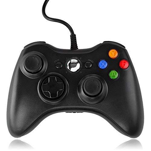 QUMOX Wired Controller USB Joypad für Microsoft PC Windows Gamepad XBOX 360