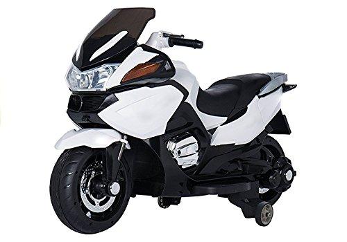Lean Toys Moto hzb118con batteria Bianco
